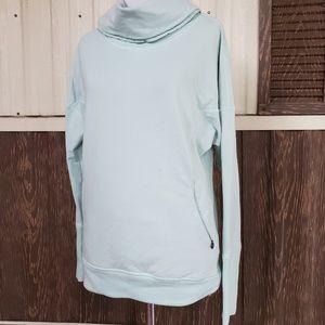 Lululemon turtle neck sweatshirt size 6